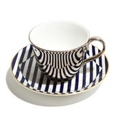 Image of Richard Brendon: Warp cup and saucer