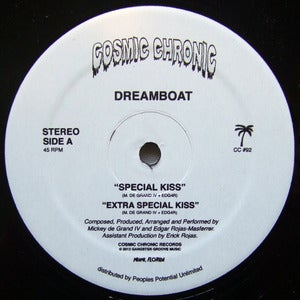 Image of DREAMBOAT & TOM NOBLE / SPECIAL KISS / COSMIC CHRONIC 12""