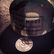 Image of Raw Caviar Camo Snapback