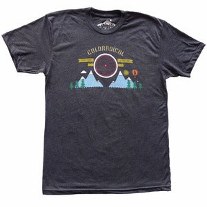 Image of Coloradical Rad Wheel T-Shirt