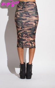 Image of Army Brat Pencil Skirt