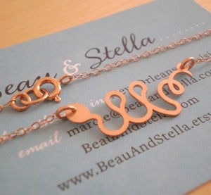 Image of Baby Snake Necklace