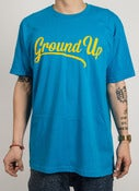 Image of Ground Up Script T (Turquoise)