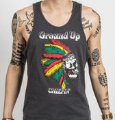 Image of Ground Up Chiefin' Tank UNISEX (Grey)