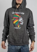 Image of Ground Up Chiefin' Spring Hoodie (Heather Black)