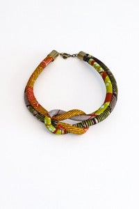 Image of Toubab fabric necklace