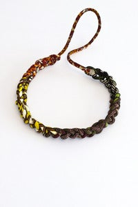 Image of Toubab fabric plaited necklace