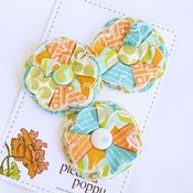 Image of set of 3 posy pins - 832