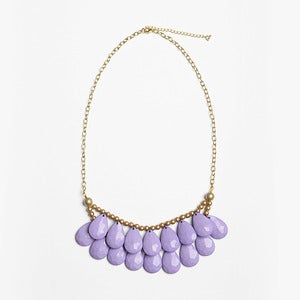 Image of Lavender Briolette Necklace