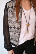 Image of Aztec Sheer Jacket