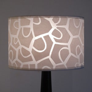Image of Wide Drum Patchwork Petal Cream
