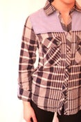 Image of Plaid Button Down