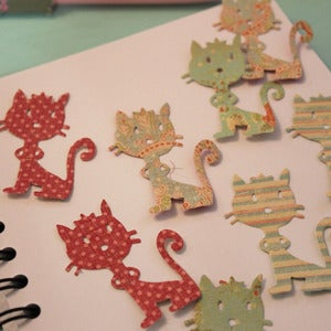 Image of Pack 8 gatitos de papel