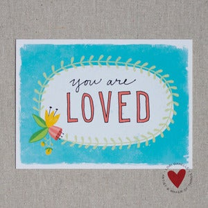 Image of You Are Loved — 5x7 Print