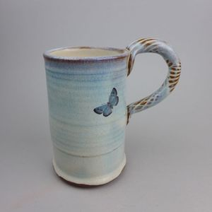 Image of Large Blue Tit, Song Thrush, Robin or Blackbird Mug