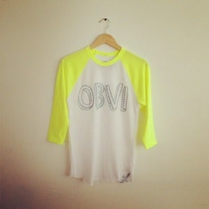 Image of Obvi Women's Baseball Tee