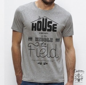 Image of T-shirt homme House &amp; EDM Party - gris