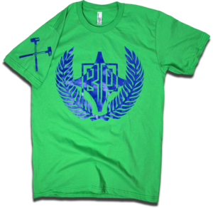 "Image of ""The 12th Man"" tee by Backpage Press"