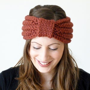 Image of Chunky turban knot headband