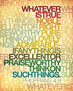 Image of Whatever is....Philippians 4:8