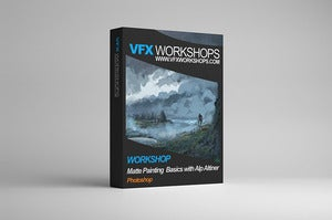 Image of VFX Workshops Matte Painting Basics - LEARN AS YOU GO 