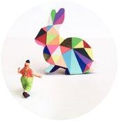 Изображение Брошь Арлекин Bunny - Геометрические