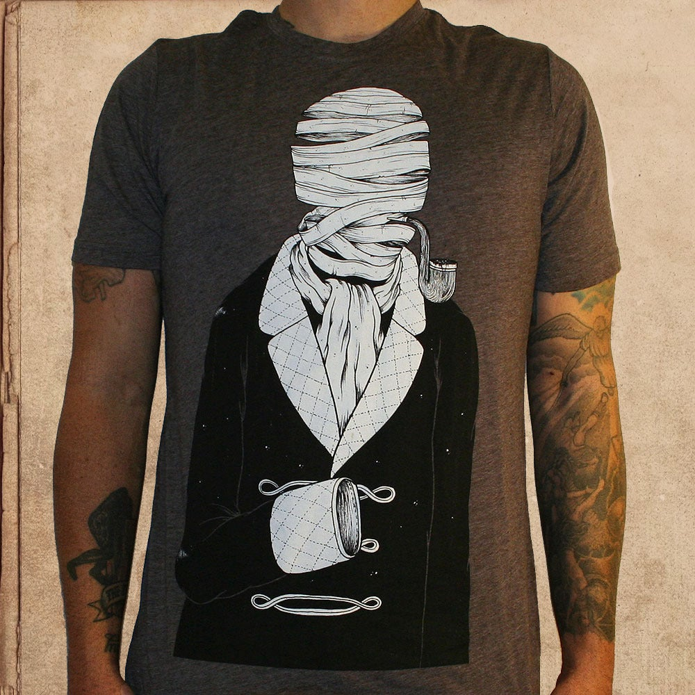 Image of the Invisible Man - unisex - tri blend coffee 