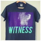 Image of 'WITNESS' Charcoal Grey Tshirt