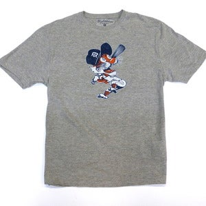 Image of Detroit Tigers Swinging Kitty (Heather Grey)