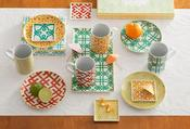 Image of Geometric Dishware