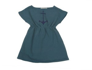 Image of Boatneck Anchor Dress