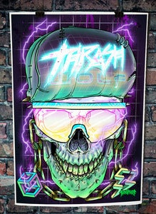 Image of ELECTRO SKULL PRINT- FIRST 6