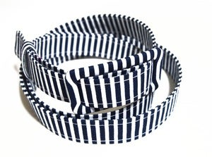 Image of Nautical Stripe Skinny Belt