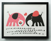 "Image of ""Elephant love"""