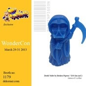 Image of Death Vader Resin Blue Version - Broken Pigeon - Wonder Con 2013