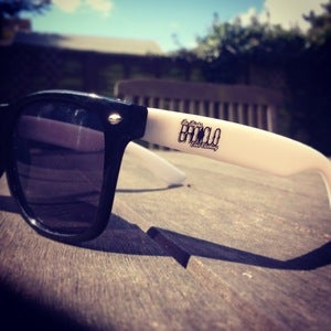Image of Two Tone Black/White Wayfarers