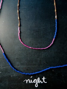 Image of Night Golden Lining Necklaces