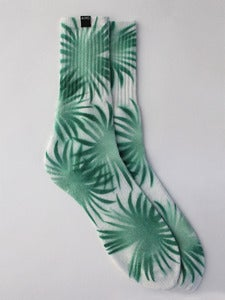 Image of AND Tropical Leaf Socks <em> New </em>