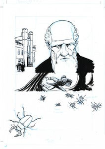 Image of Darwin: A Graphic Biography, pg25