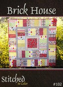 Image of Brick House Quilt Pattern