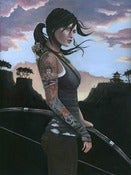 Image of Reborn - Tomb Raider 18x24 Giclee Print