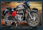 Image of 1960_Royal_Enfield_Constellation_700_old_motorcycle_poster