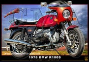 Image of 1978 BMW R100s_motorcycle_poster_print_art