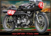 Image of Jap_880_motorcycle_poster_print_art_cafe_racer