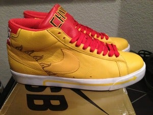 "Image of Nike SB Blazer ""Michael Lau China BMX"""