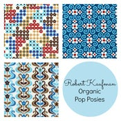 Image of Pop Posies fabric by Nancy Mims for Robert Kaufman
