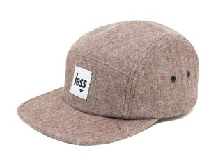 Image of LESS - Square Logo Camp Cap(Brown)