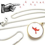 Image of Sleepy Hollow Thamatrope Necklace
