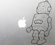Image of Robot Vinyl Decal