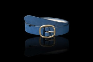 Image of The Pilgrim Belt - Indigo